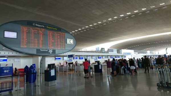 シャルルドゴール空港手続き